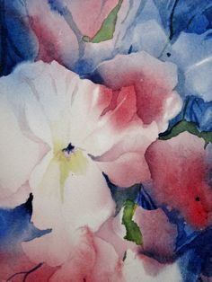 Original Art Print Watercolor Painting Bright by NancyKnightART, $20.00