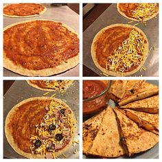 Healthy Pizzadilla Recipe- Ready in minutes and only 100 calories!