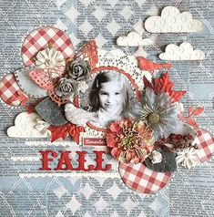 Art journal collage inspiration - I like the colorful elements on the B&W background.