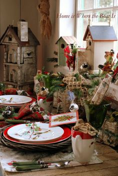 62 Best Setting the Christmas table images  ae77d984c2