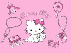 Hello Kitty / Sanrio Wallpapers (1024×768 pixels)   Digital Citizen Writing A Reference Letter, Sanrio Characters, Fictional Characters, Blackberry Bold, Sanrio Wallpaper, Cute Cartoon Drawings, Picture Postcards, Sanrio Hello Kitty, Cat Gifts