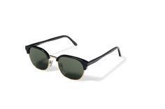 7a38f4e184 L.G.R sunglasses Mod. SAHARA black green