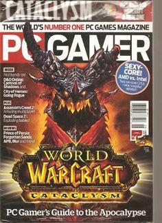 PC Gamer Magazine (World of Warcraft Catalysm, « Library User Group