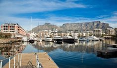 With the great Table Mountain providing the backdrop for this stunning seaside port city, Cape Town is an outdoor lover's delight. V&a Waterfront, Berlin, Table Mountain, Victoria Falls, Travel And Leisure, Walking Tour, Cape Town, Night Life, South Africa
