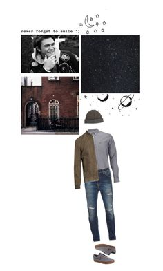 """""""Flynn - space boy"""" by asmin ❤ liked on Polyvore featuring Lacoste, Nudie Jeans Co., Brunello Cucinelli, Raffi, NIKE, Prada, men's fashion, menswear, harrypotter and hogwarts"""