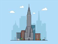 Chrysler building, New York, USA