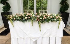Ceremony flowers at St Audries Park by Bristol florists, The Wilde Bunch Bristol Channel, Florists, Park Weddings, Wedding Flowers, Wedding Venues, Wreaths, Wedding Reception Venues, Floral Shops, Wedding Places