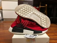 f79694ce1 goVerify Genuine Seller  23 Sneakerheadz  One of our favorite sellers on  eBay. For Sale  Adidas HU NMD PW Pharell Williams Human Race Red.