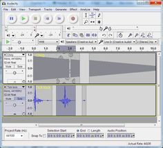 Audio-Editor: O-Töne, Texte einsprechen und Musik aufnehmen, dann schneiden
