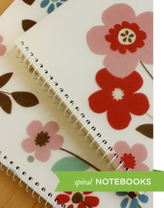 Notebooks and Paper - 8 - Spiral Notebooks