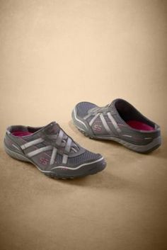 $29.95 Skechers Go Getter Sneakers from Soft Surroundings in Charcoal (black available too)