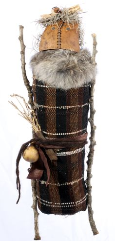 handwoven spirit doll