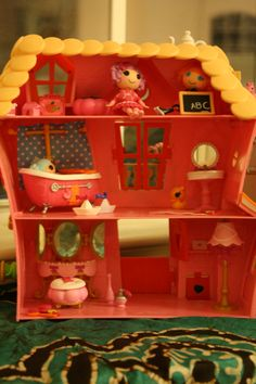 Perfect Lalaloopsy House.Opens In A New Window   Munchkin Stuffs   Pinterest    Lalaloopsy, Doll Houses And Dolls