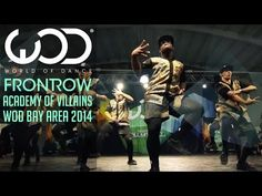 OMG they killed it!!!!  Academy of Villains Exhibition | FRONTROW | World of Dance #WODBay '14 - YouTube