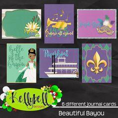 Beautiful Bayou Journal Cards