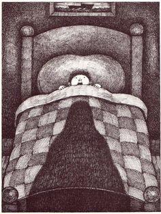 """The Headless Horseman Rides Tonight"" Ilustracion Arnold Lobel"