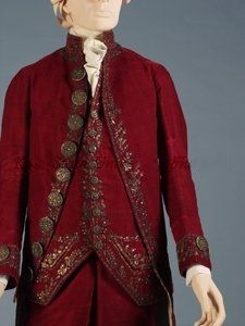Suit 1778, French, Made of silk