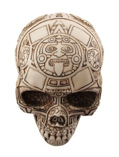 Google Image Result for http://www.dreamwaytrading.com/prodimages/alt_images/57378_off_white_aztec_pattern_tribal_skull_statue_4M.jpg