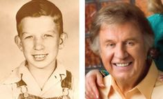 Bill Gaither as a youngster and adult, (Homecoming Magazine, Jul/Aug 2011)