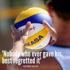 Volleyball motivational quote http://www.fivb.org/
