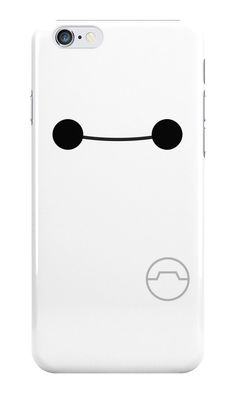 Add a cute huggable exterior to your phone case! A great late minute Christmas gift. Big Hero 6 Baymax white plastic phone by SnarkySharkStudios! Disney Phone Cases, Iphone 6 Cases, Cute Phone Cases, Phone Covers, Iphone 5se, Baymax, Big Hero 6, Iphone 7 Plus, Cool Cases