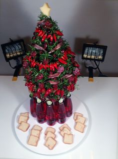 This Savory Stunner of a Christmas Tree Is Completely Edible - Bon Appétit