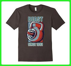 Mens Sports Gym 1993 24th Beast Workout Birthday Gift T Shirt XL Asphalt - Workout shirts (*Amazon Partner-Link)