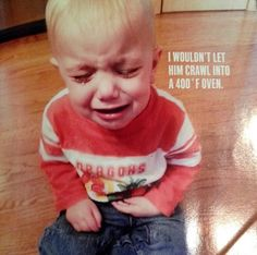 On Monday, I asked you to tell me why your kids are crying (because THEY ARE ALL CRYING) to help promote the launch of Greg Pembroke's hilarious new photo Reasons Kids Cry, Crying Kids, Crying For No Reason, Police Memes, Funny Memes, Hilarious, Stupid Funny, Funny Quotes, Photography Challenge
