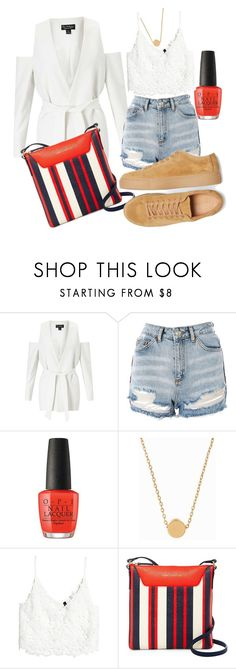 """School Daze"" by kjones8721 on Polyvore featuring Miss Selfridge, Topshop, Minnie Grace and Tommy Hilfiger"