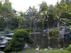 MANABU HANGAI Art Works / Art Work / Playing with wind and water and time, Shinsyokaku 100 days