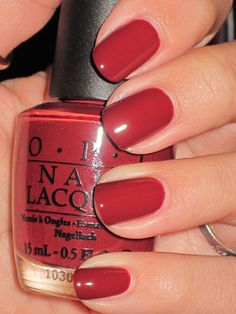 "OPI: I'm Suzi and I'm a Chocoholic: ""if red velvet batter and peanut butter had a frosting baby"""