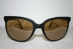 Retro Cat Meowww :) --> Vintage Ray Ban Matte Black Rayban Bausch & Lomb B&L Sunglasses CATS RB-50  #RayBan #CATS #Casual #Street wear #549.77