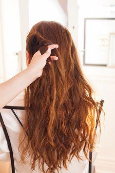 A light as a feather hair tutorial