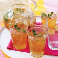 8 Super-Refreshing Homemade Iced Teas .... Minty Iced Tea       Flavored with fresh mint and lime juice, this refreshing iced tea is well-suited to accompany almost any type of food.