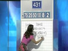 Lily Serna - Amazing Maths Solution on Letters and Numbers (vía @gaussianos)