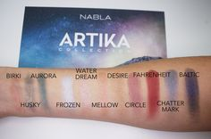 I recently splurged on a bunch of new eyeshadows, all by the brand Nabla…