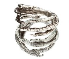 Silver Claw Ring by Snash Jewelry