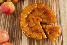 Tarte Tatin isn't as American as apple pie, but it's a whole lot easier With just four ingredients, it's all about the apples: the lovely taste and shape of the fruit are preserved by sugar and heat, with a buttery-salty crust underneath This recipe from Gotham Bar and Grill in New York has a couple of tricks that make it easier to pull off than others: dry the apples out before baking; start by coating the pan with butter instead of making a caramel; use tall chunks of apple and hug them…