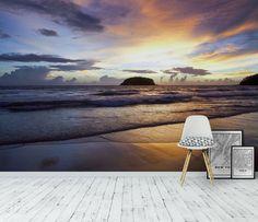 Evening Beach Tapet