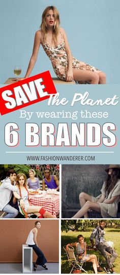 These 6 brands are THE BEST affordable and essential wardrobe I ever seen! By wearing them, I can save the planet, sustainable and ethically made! Definitely pinning!  #sustainablefashion #ecofriendlyfashion #ethicalbrand #ethicalclothingwomen #budgetclothing