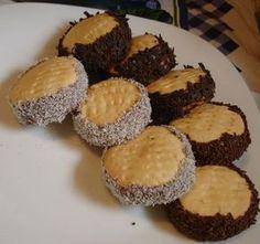 αλφαχορες-κορνφλαουρ Biscotti, Cookie Recipes, Recipies, Muffin, Food And Drink, Sweets, Birthday Parties, Cookies, Breakfast