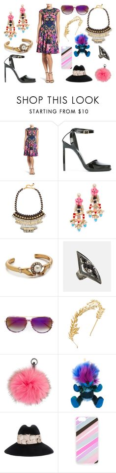 """""""This is for you"""" by camry-brynn ❤ liked on Polyvore featuring Maggy London, Yves Saint Laurent, Nocturne, Adia Kibur, Marc Jacobs, Avenue, Dita, Avigail Adam, N.Peal and Burberry"""