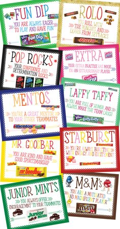 Cheer Gifts, Team Gifts, Staff Gifts, Candy Bar Awards, Candy Bar Posters, Candy Quotes, Employee Appreciation Gifts, Candy Grams, Work Gifts