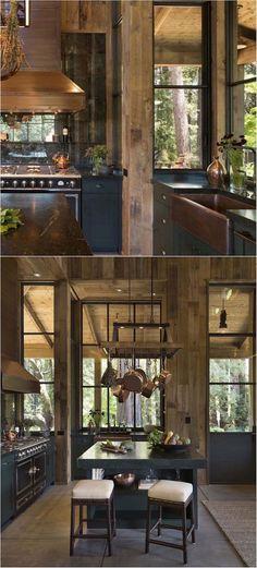 Farmhouse Style Cabin In Napa Valley