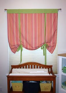 Stunning Cool Tips: Outdoor Blinds Interior Design living room blinds apartment therapy.Living Room Blinds Apartment Therapy blinds for windows with oak trim.Blinds Curtain How To Make. Bedroom Curtains With Blinds, Tie Up Curtains, Living Room Blinds, Diy Blinds, House Blinds, Fabric Blinds, How To Make Curtains, Rod Pocket Curtains, Custom Curtains