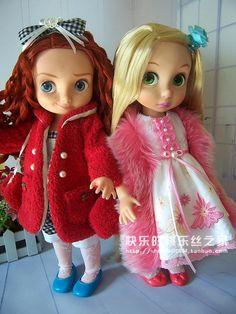 纯手针自制美国迪士尼Disney动画师沙龙娃娃 可穿小衣服 售完展示-淘宝网