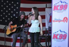 Kira  Isabella at Boot Grill for New From Nashville