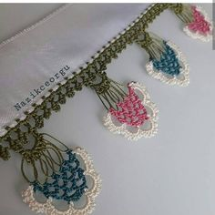Loom Patterns, Baby Knitting Patterns, Crochet Patterns, Bead Crochet, Crochet Earrings, Pink Love, Pearl Beads, Needlework, Diy And Crafts