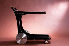 Trolley, 2014. Stainless steel carbon fiber aluminum. Photo byAlexandros Botonakis.