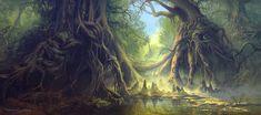 Mystical Forest by FerdinandLadera.deviantart.com on @deviantART